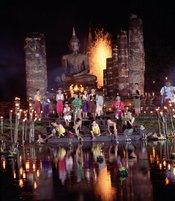 Un espectáculo único en Tailandia