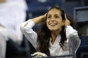 Xisca Perelló acompaña a Rafa Nadal en el US Open