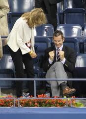 La Infanta Cristina e Iñaki Urdangarín en el Open USA