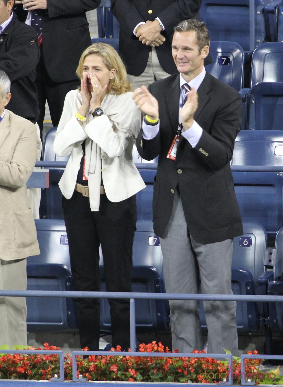 Los Duques de Palma apoyan a Rafa Nadal en el US Open