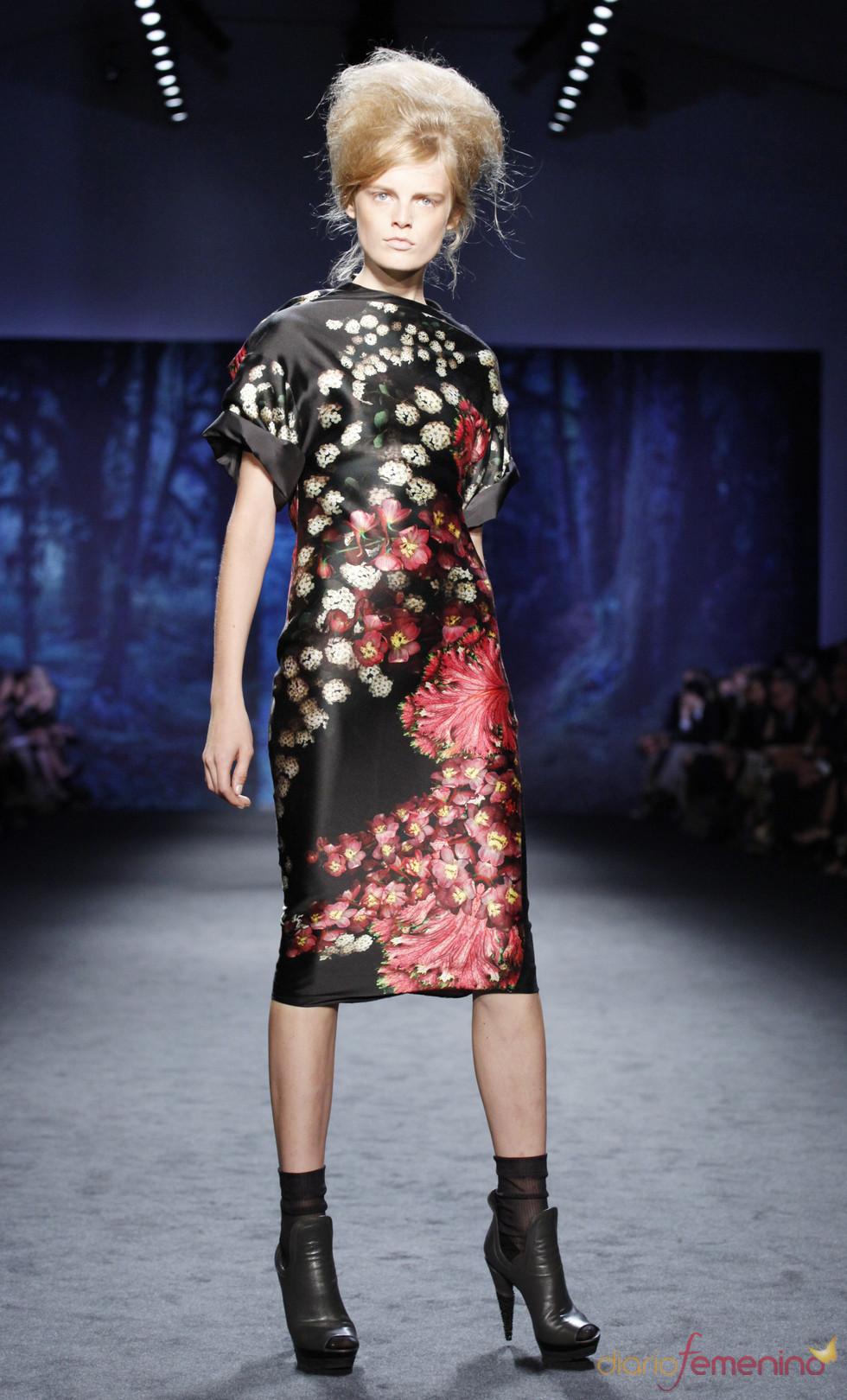 Semana de la Moda de Nueva York: modelo de Vera Wang