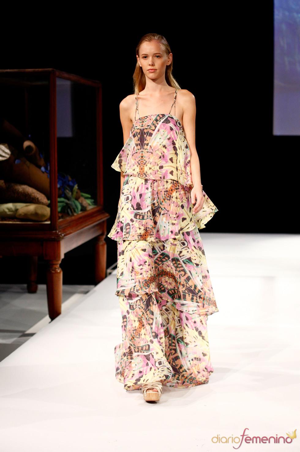 Leifsdottir en la Semana de la Moda de Nueva York
