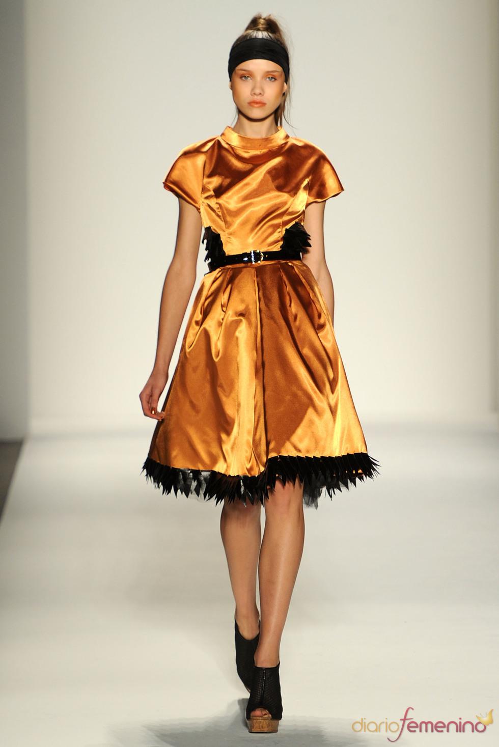 Vassilios Kostetsos en la Semana de la Moda de Nueva York