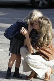 Secretos entre la princesa de Asturias y su hija menor