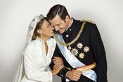 Amaia Salamanca y Fernando Gil emulan la boda de Letizia y Felipe