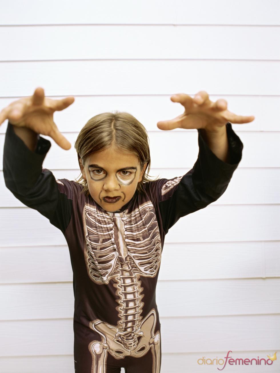 Los esqueletos, protagonistas en Halloween