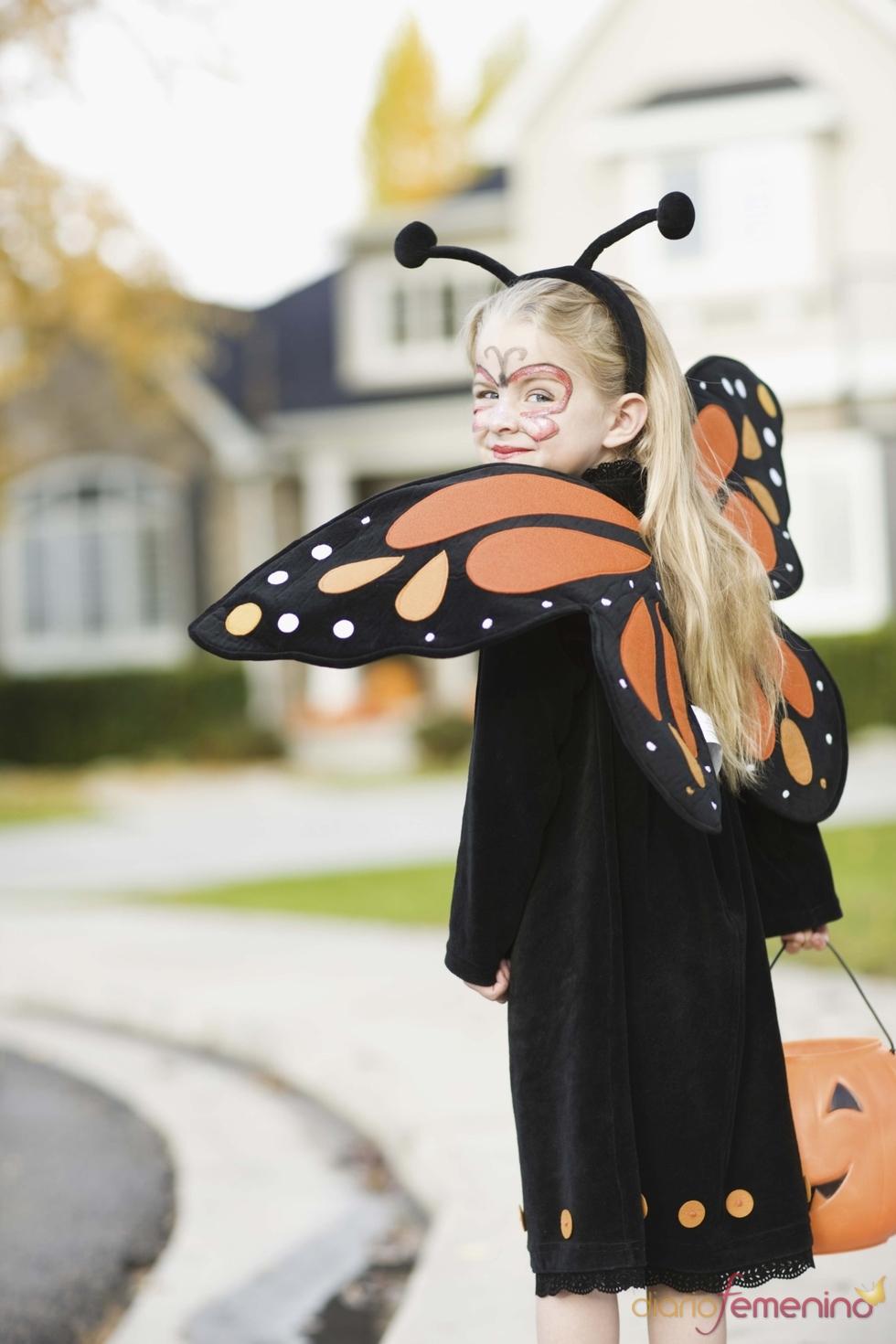 Las mariposas también tienen su lugar en la noche de las brujas