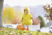 Un disfraz de pollito para tu bebé en Halloween