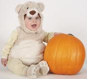 Oso bebé por Halloween