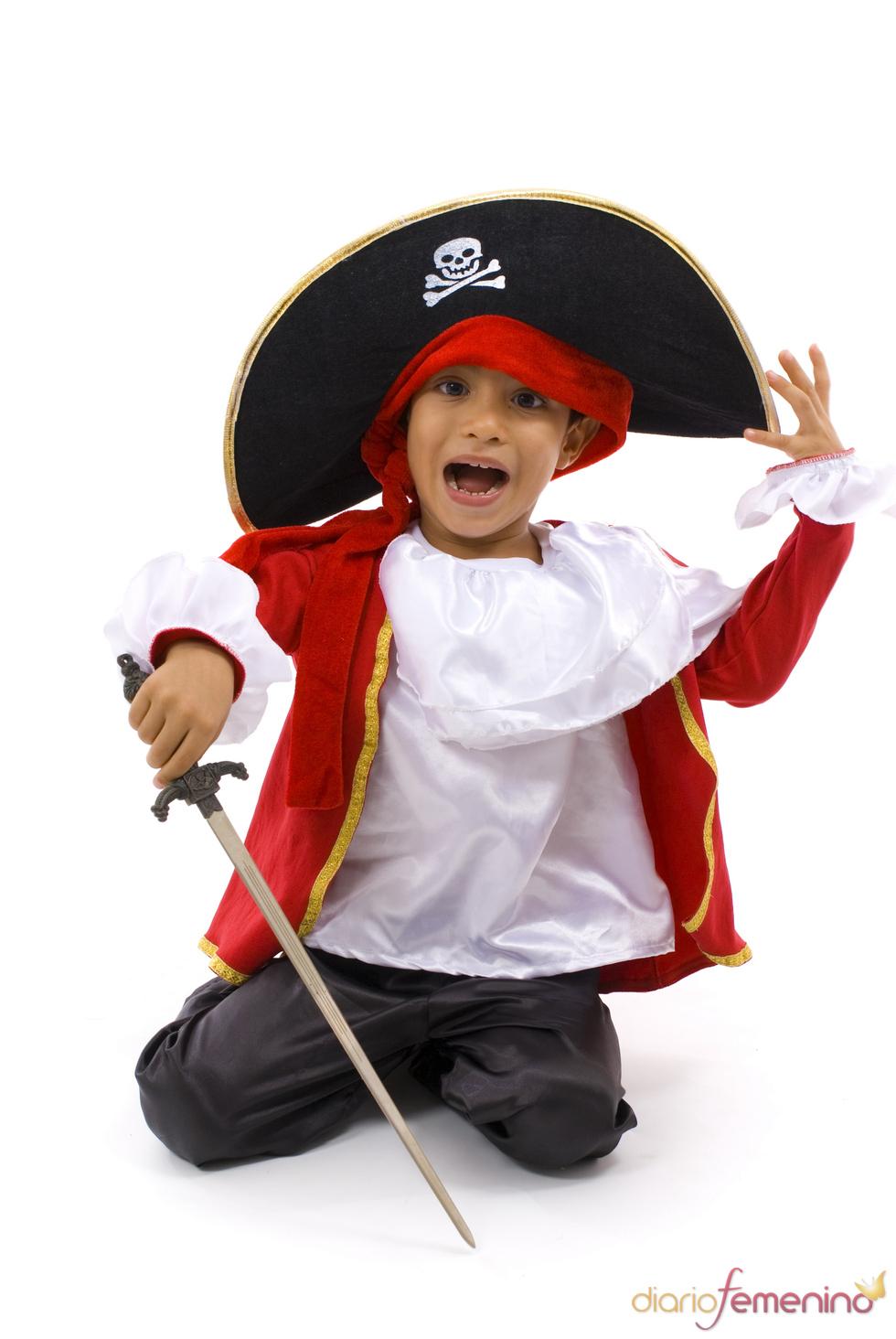 Los piratas también navegan en Halloween