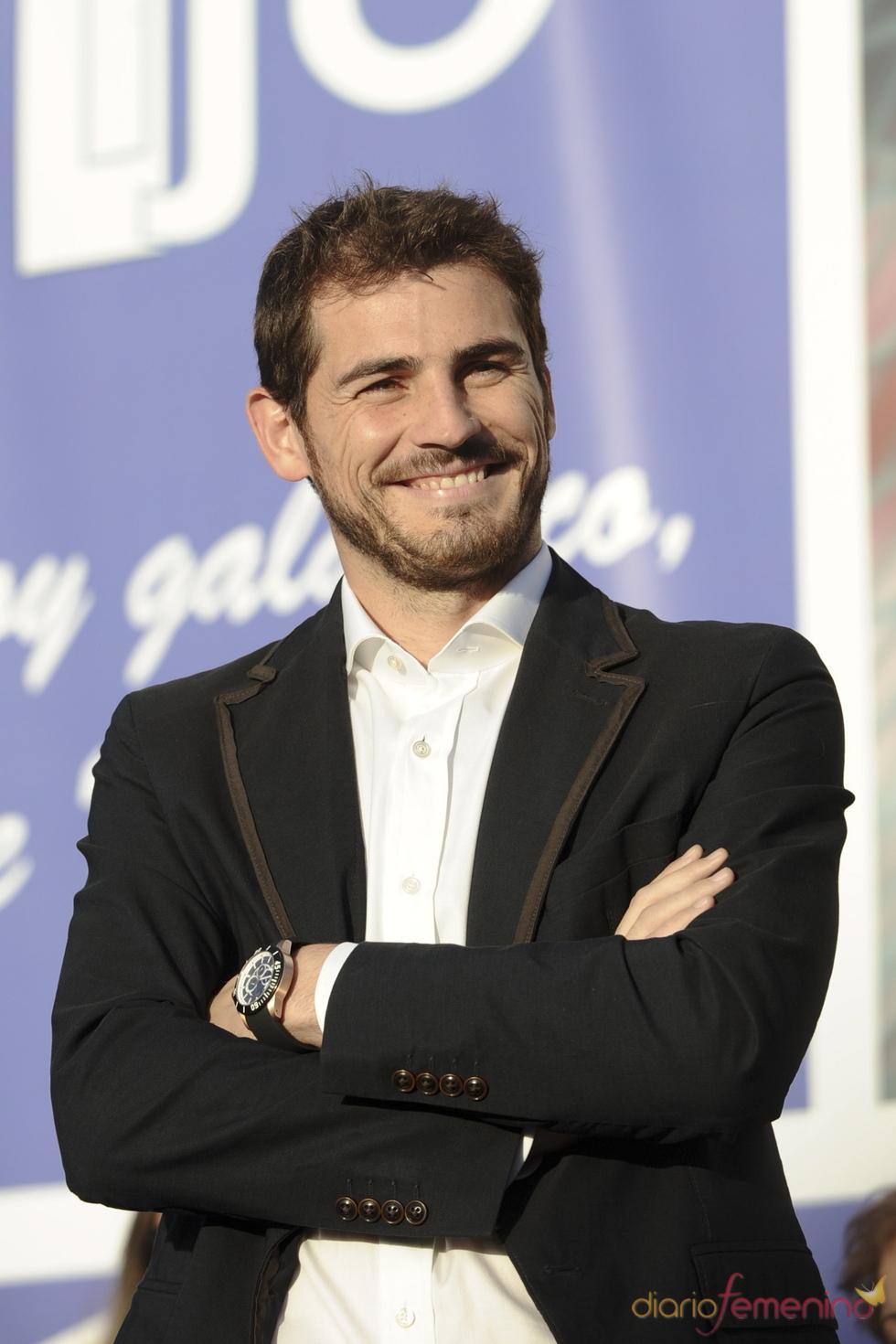 Nombramiento de Iker Casillas como hijo predilecto de Móstoles