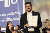 Iker Casillas nombrado hijo predilecto de Móstoles