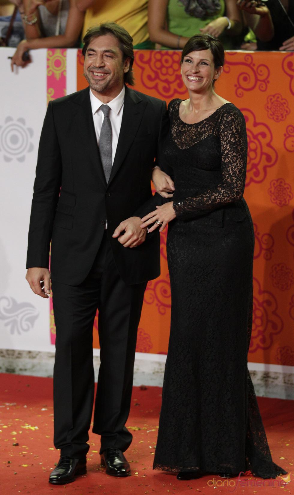Javier Bardem y Julia Roberts presentan en Roma 'Come, reza, ama'