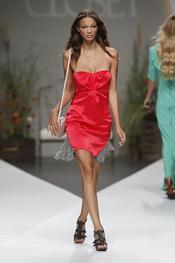 Vestido rojo de Beba's Closet