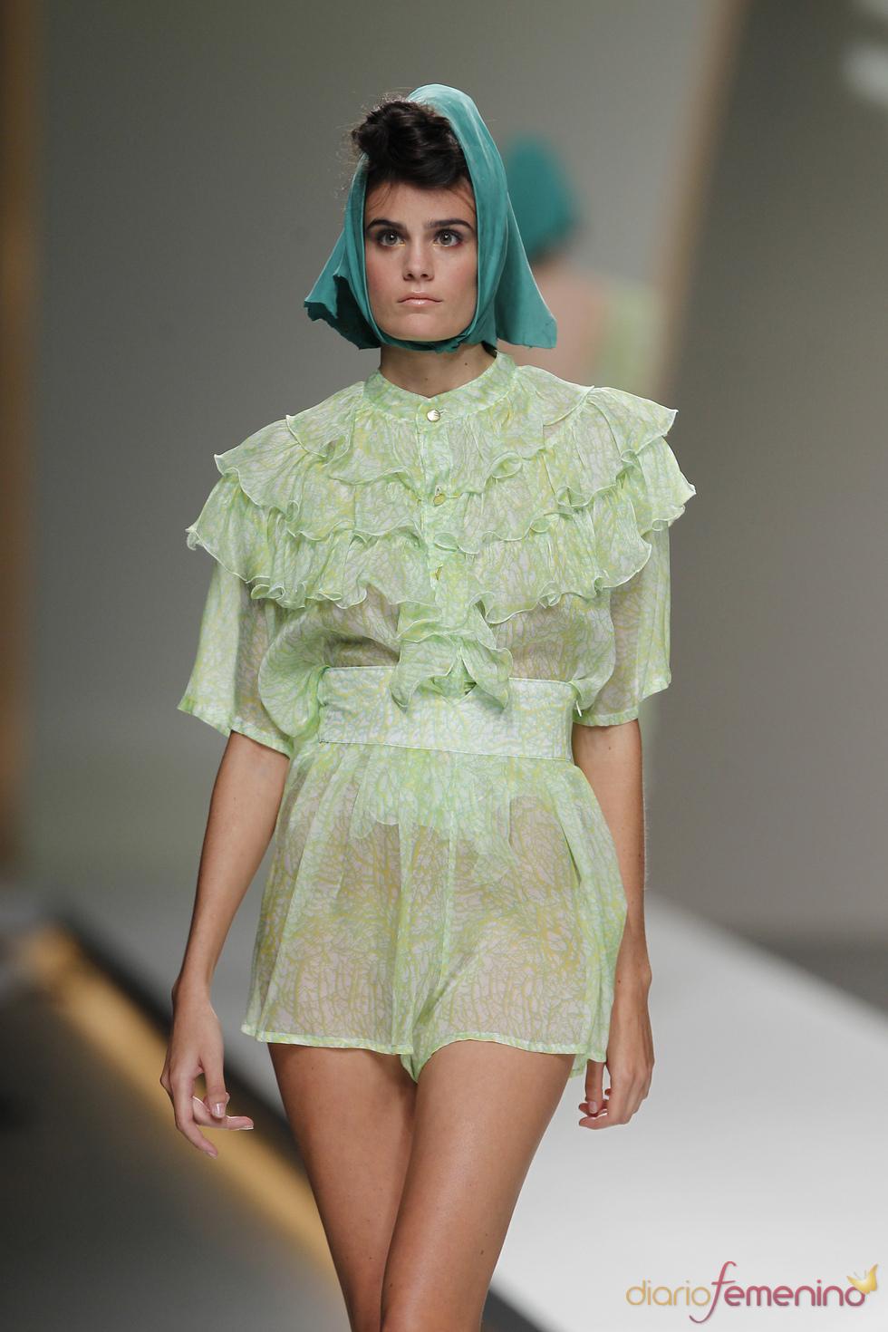 Conjunto verde de Cati Serra