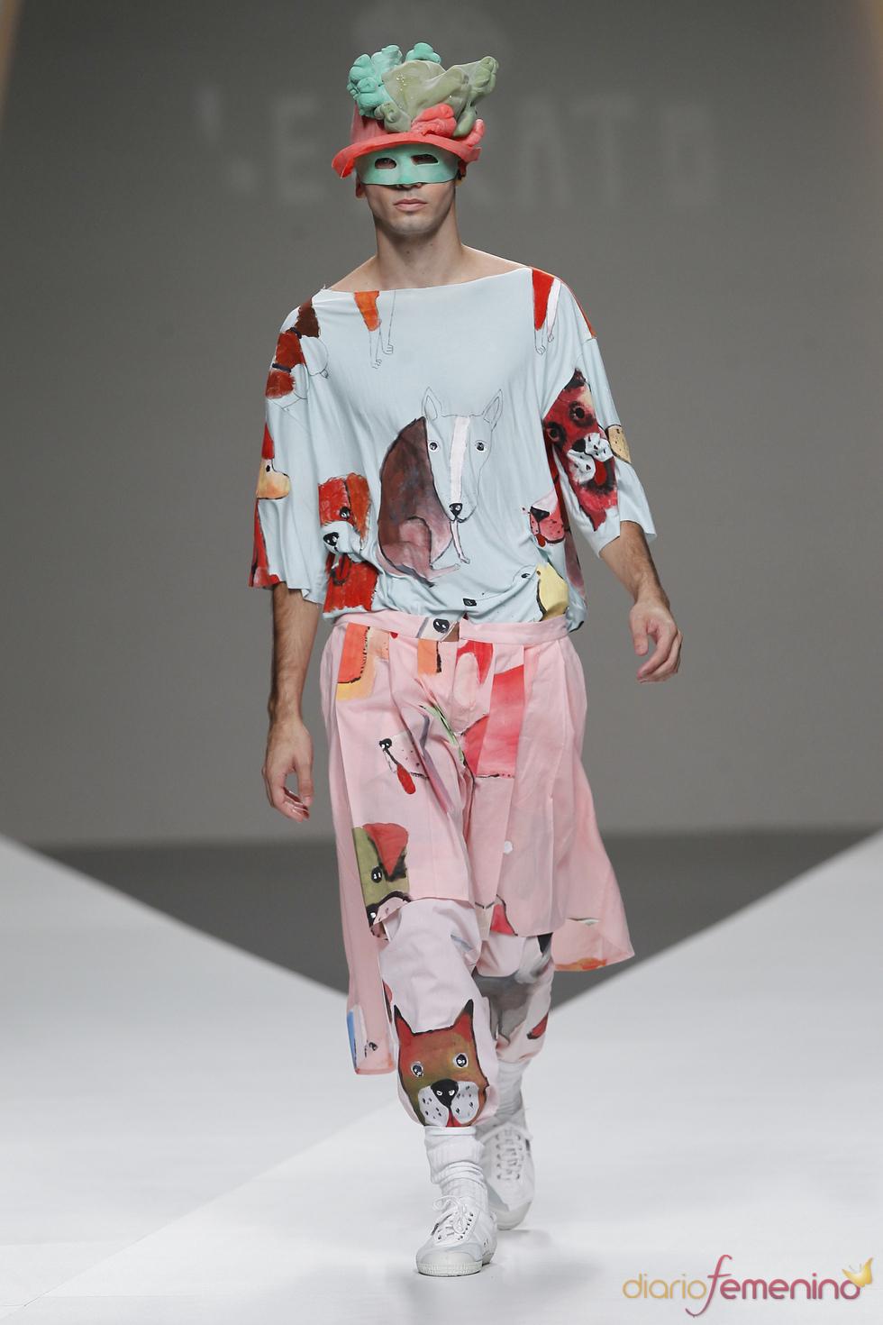 Esther Lebrato en Cibeles Madrid Fashion Week