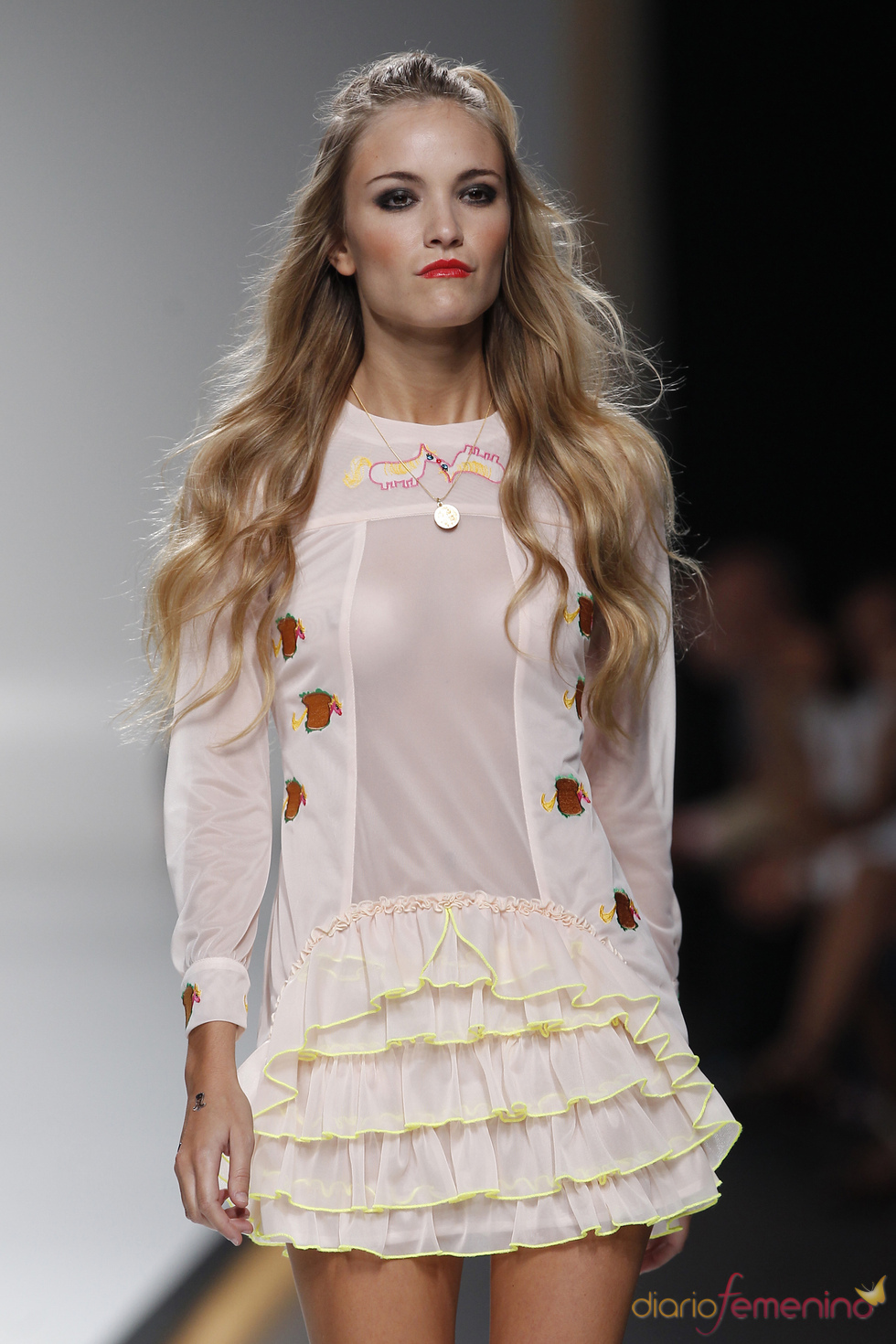 Maria ke Fisherman en la Cibeles Madrid Fashion Week