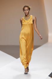 Diana Dorado apuesta por los vestidos largos minimalistas
