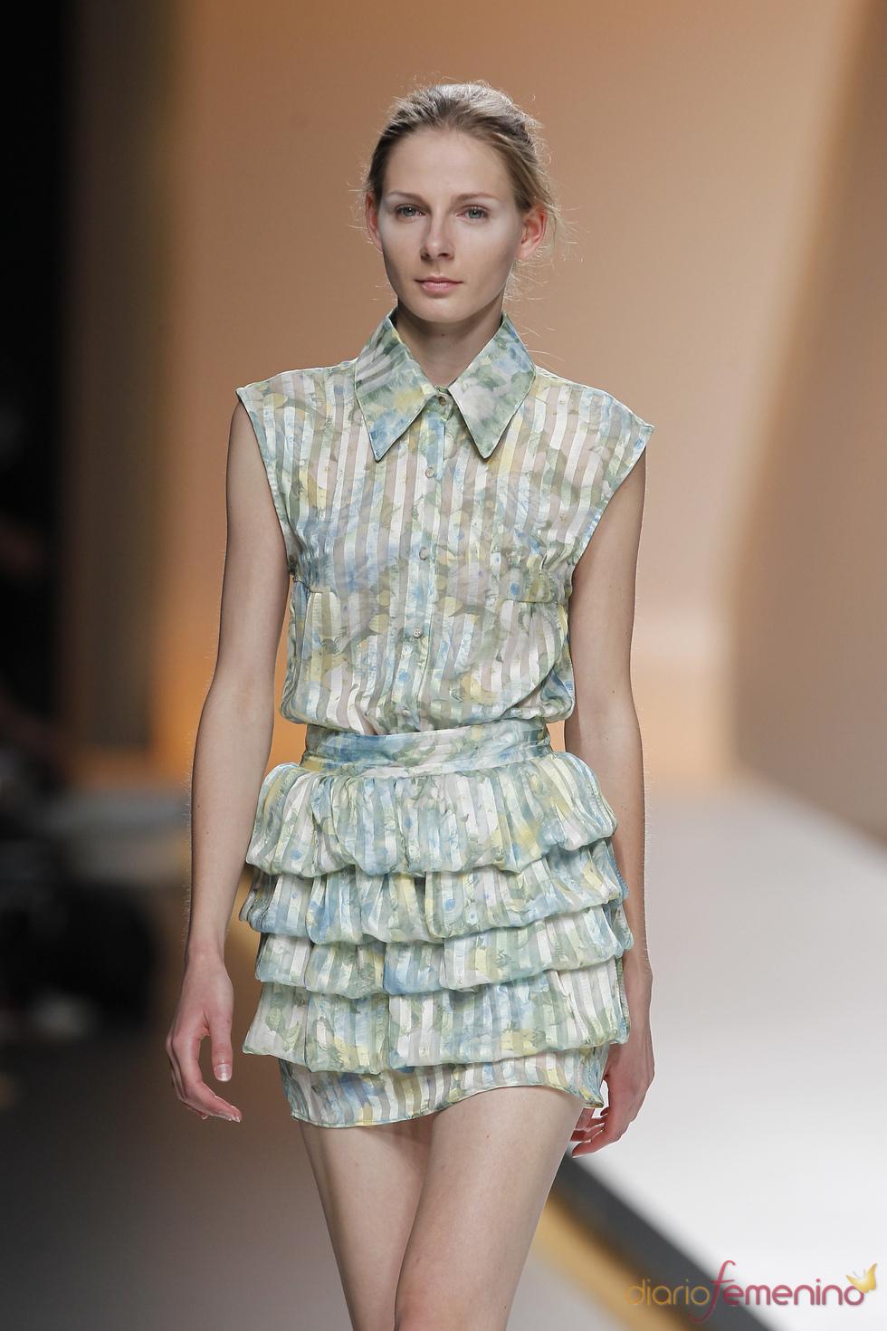 Diana Dorado renueva el look romántico en Cibeles 2010