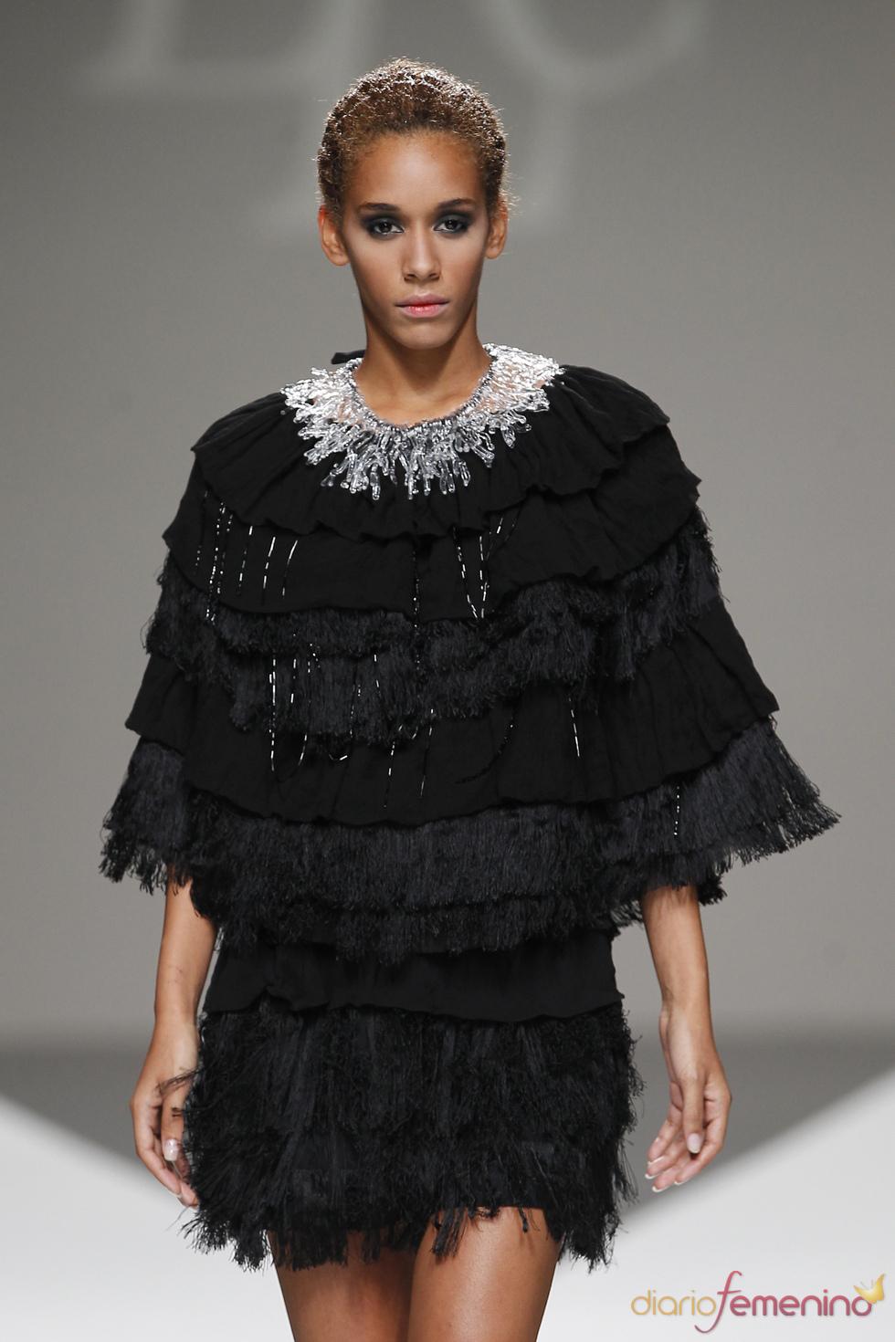 Oda a los volantes según Lluis Corujo en la Madrid Fashion Week