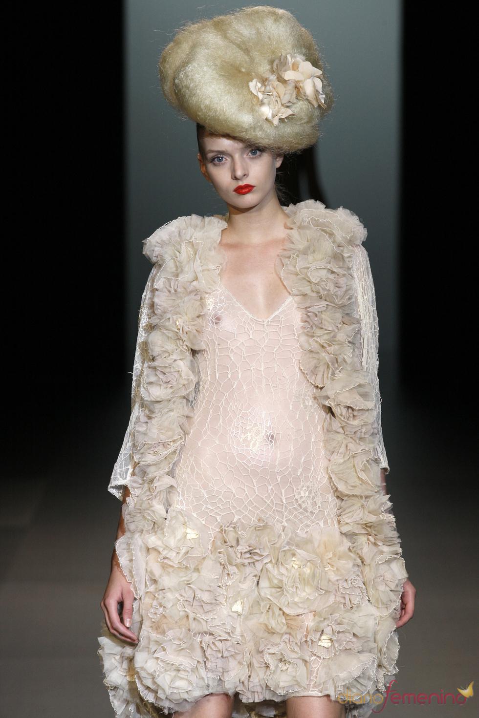La moda primavera verano de Elisa Palomino en la Pasarela Cibeles