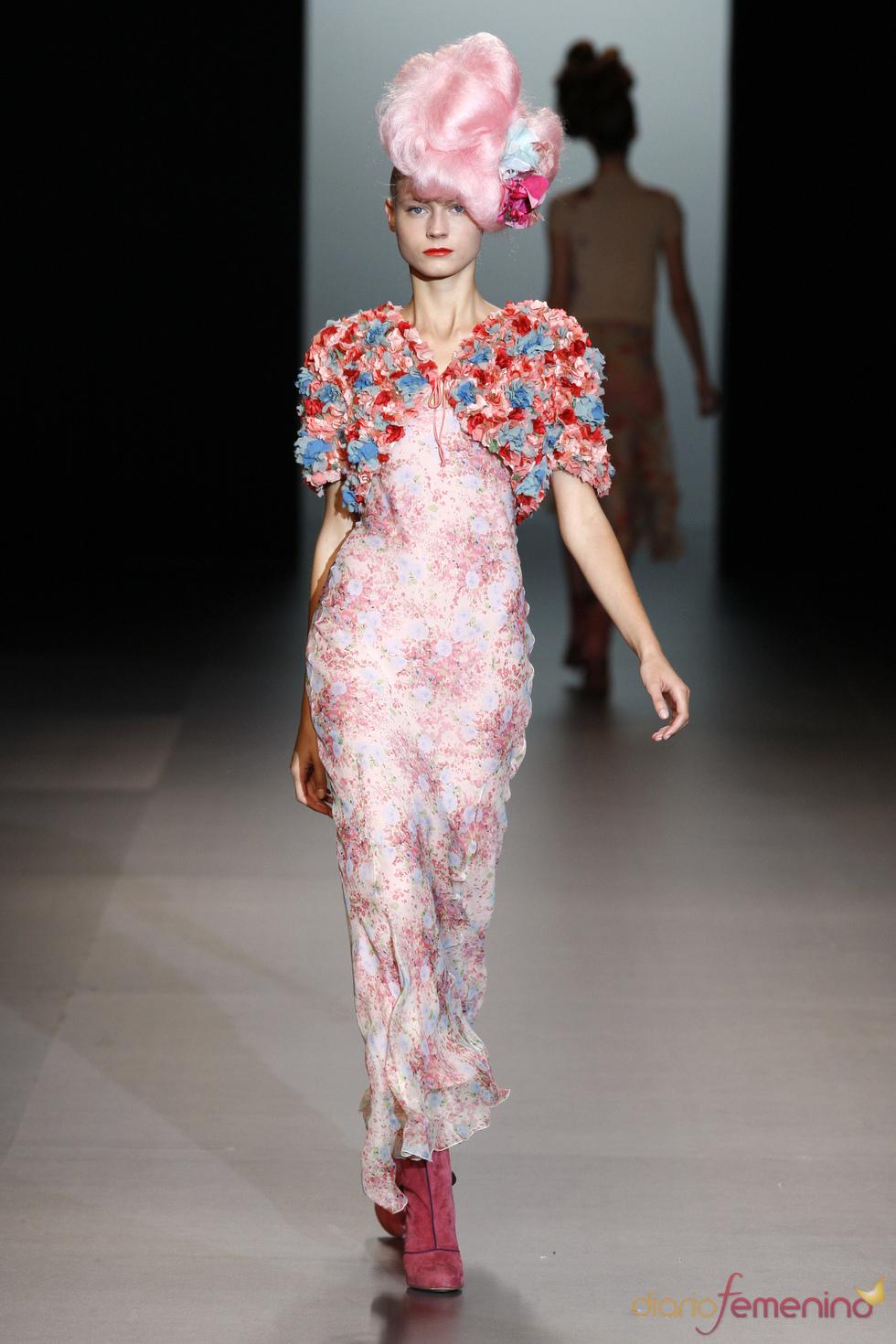 Ninfas y colores según Elisa Palomino en Cibeles Madrid Fashion Week