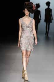 La propuesta de Elisa Palomino para la moda primavera verano 2011