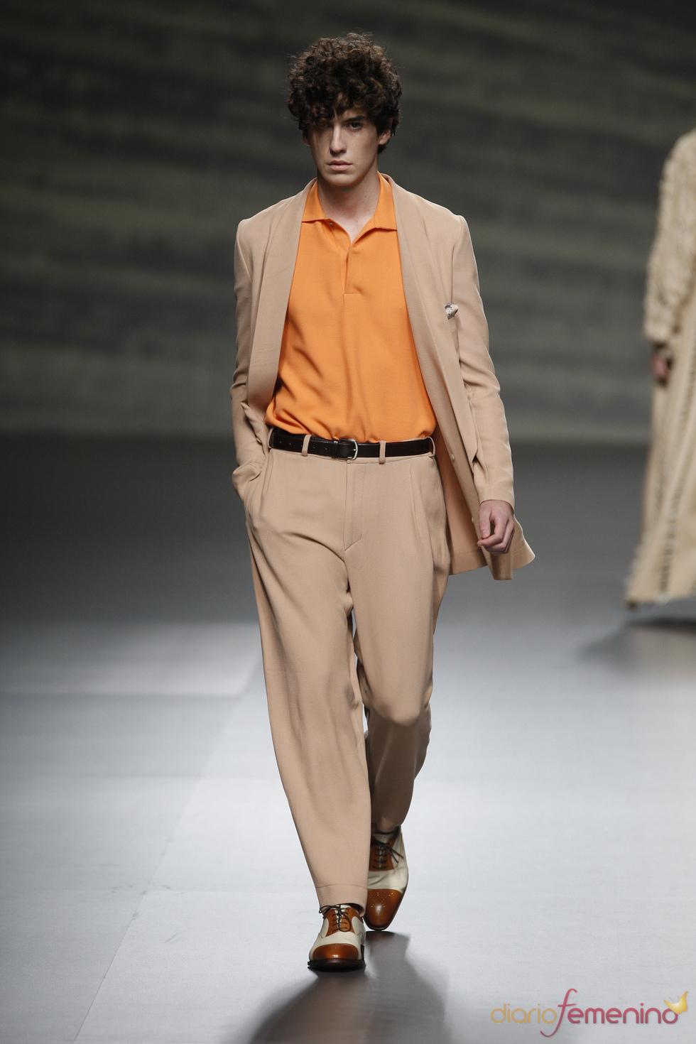 Martin Lamothe nos traslada a la California de los 50 en la Madrid Fashion Week