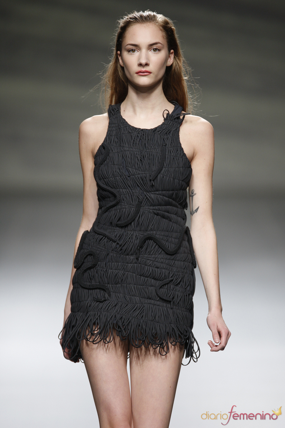 Original little black dress presentado por Martin Lamothe en la Madrid Fashion Week