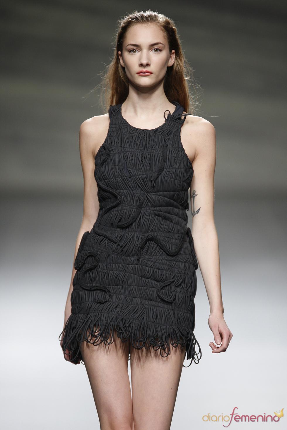 Original little black dress presentado por Martin Lamothe en la Madrid Fashion Week