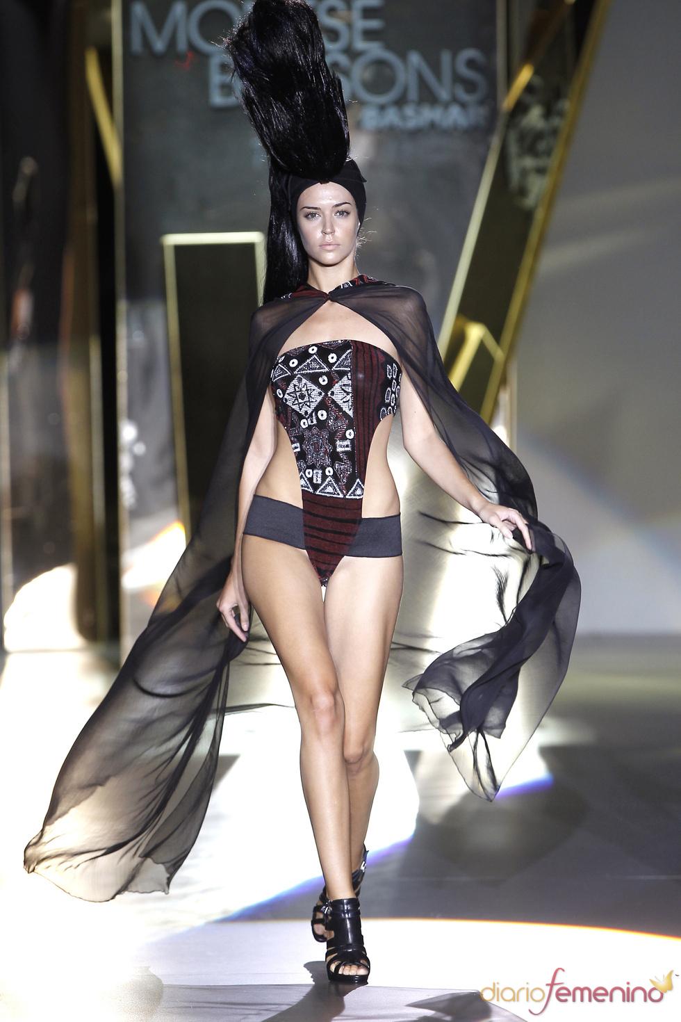 Estampado étnico de Monstse Bassons en la Madrid Fashion Week