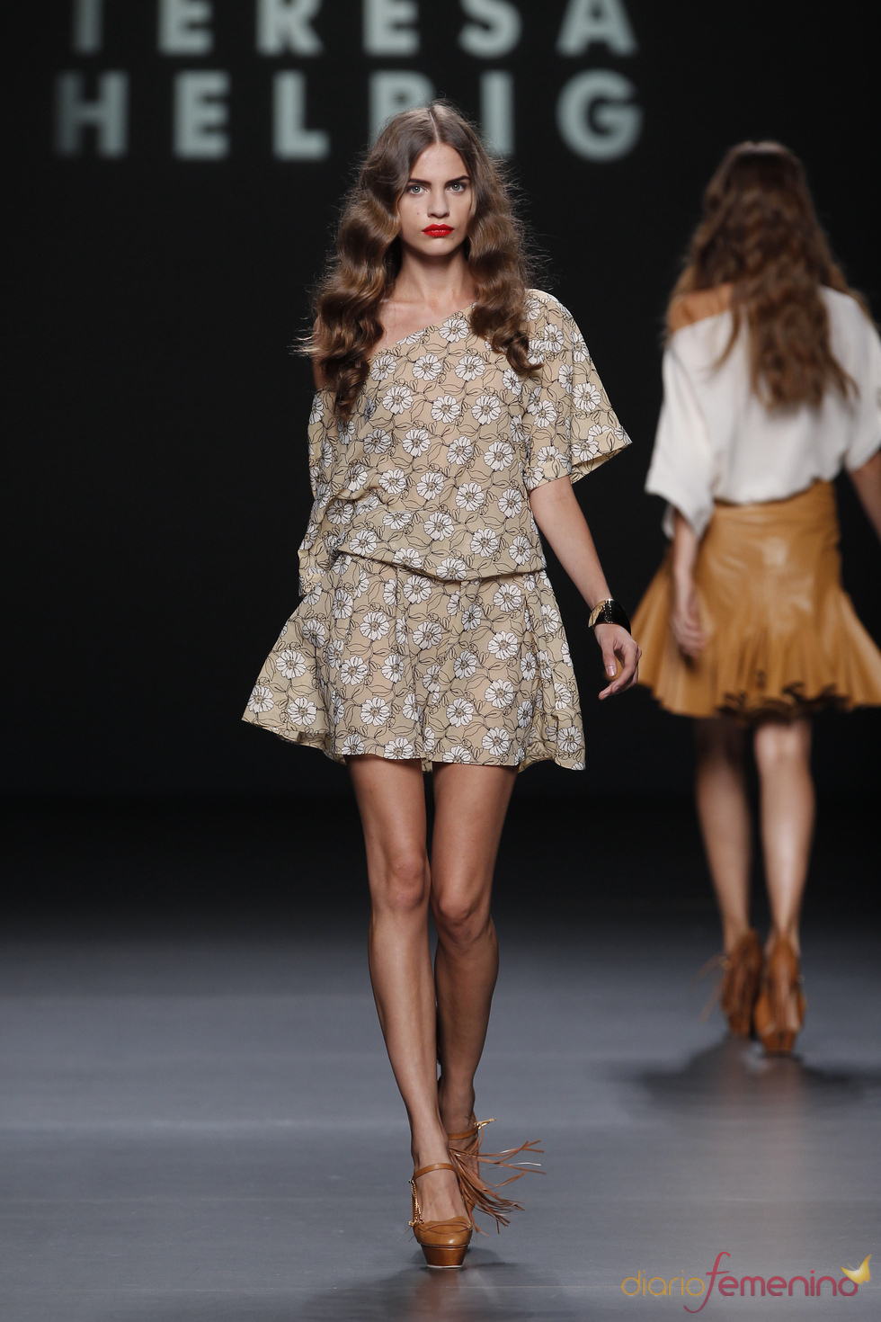 Juvenil vestido de Teresa Helbig en la Madrid Fashion Week