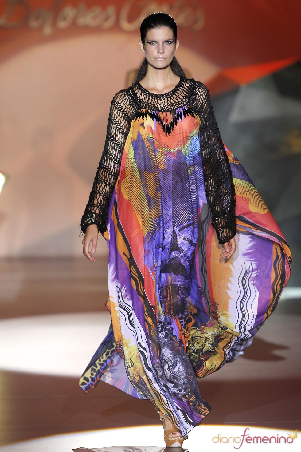 Los colores del verano 2011 y de Dolores Cortés en la Madrid Fashion Week