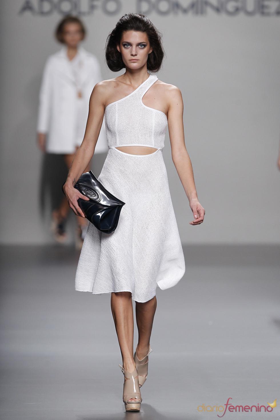 La estética natural de Adolfo Domínguez en la Madrid Fashion Week