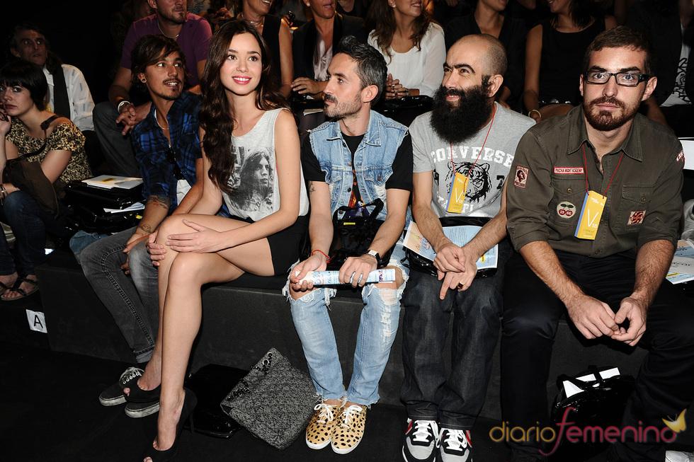 Dafne Fernández y Carlos Díez en la Cibeles Madrid Fashion Week