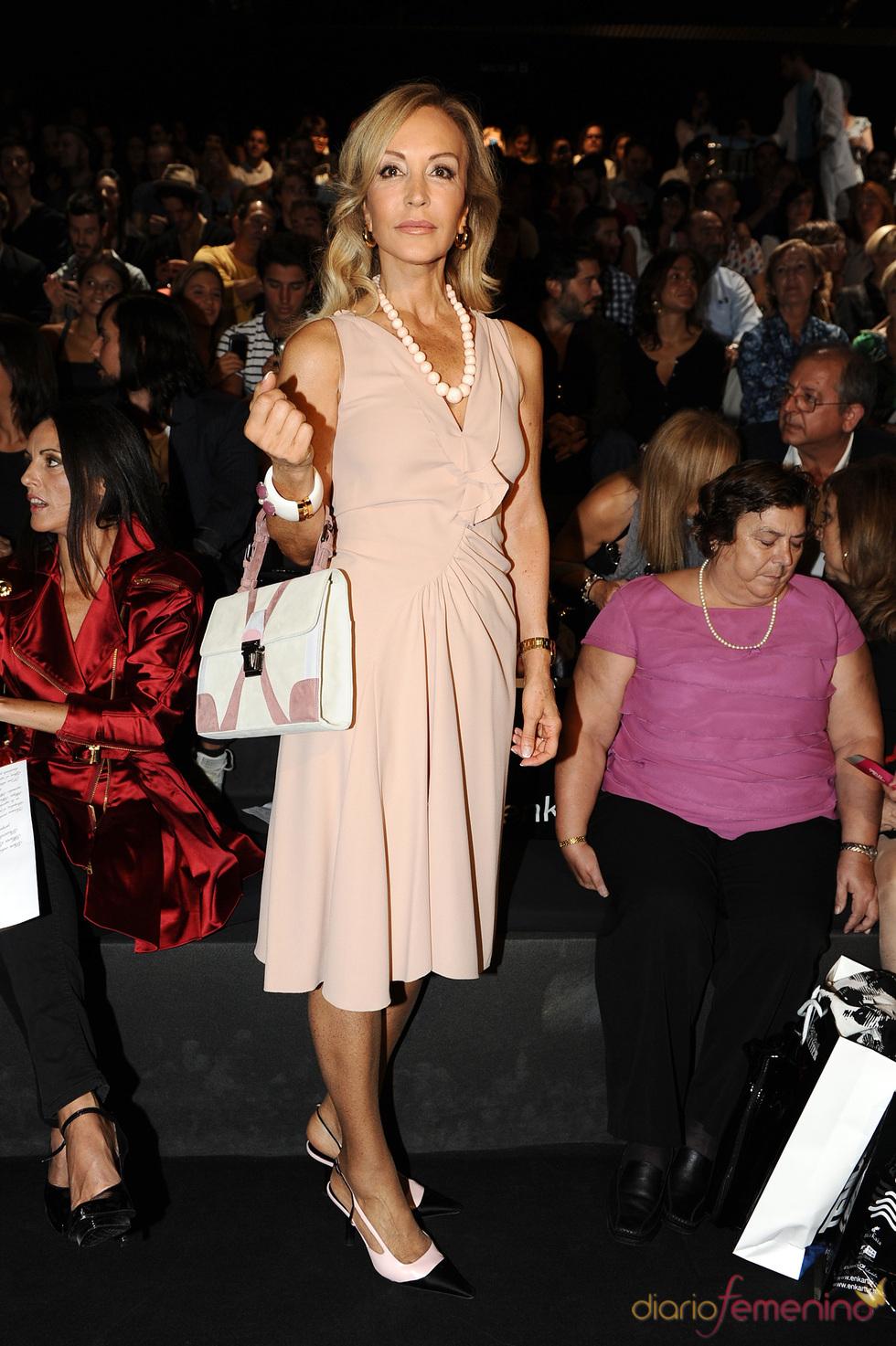 Carmen Lomana en la Cibeles Madrid Fashion Week