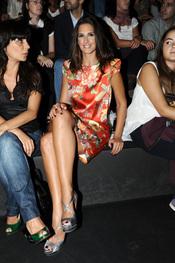 Nuria Fergó en la Cibeles Madrid Fashion Week