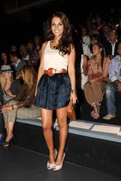 Paula Echevarría en la Cibeles Madrid Fashion Week