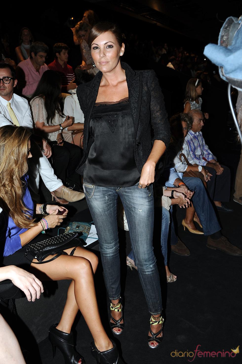 Raquel Rodríguez en la Cibeles Madrid Fashion Week