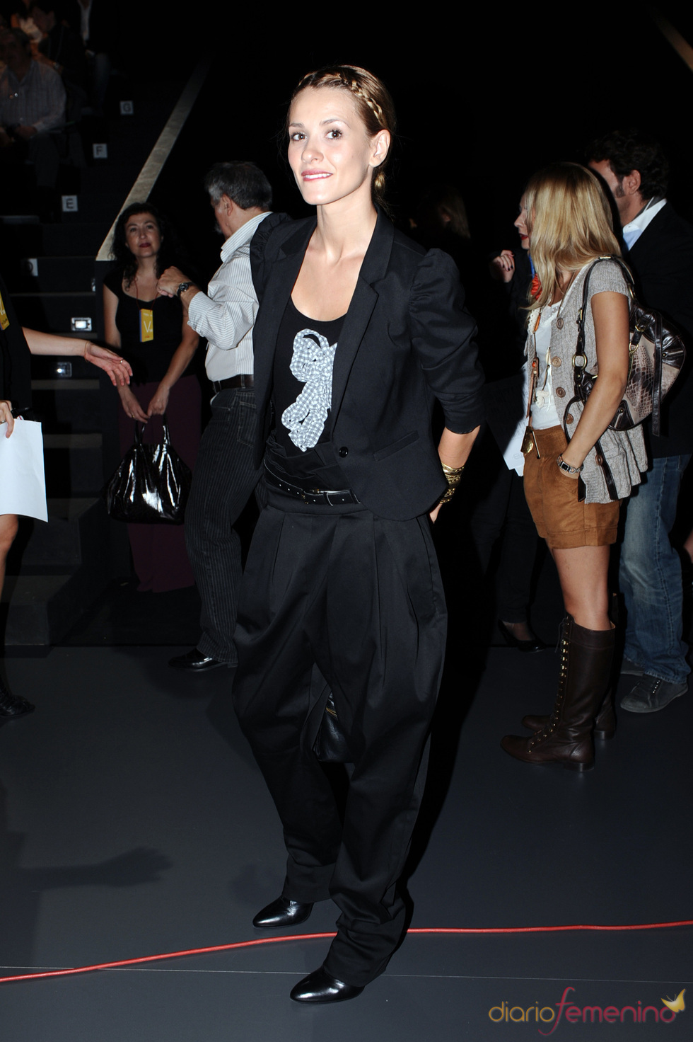 Elena Ballesteros en la Cibeles Madrid Fashion Week