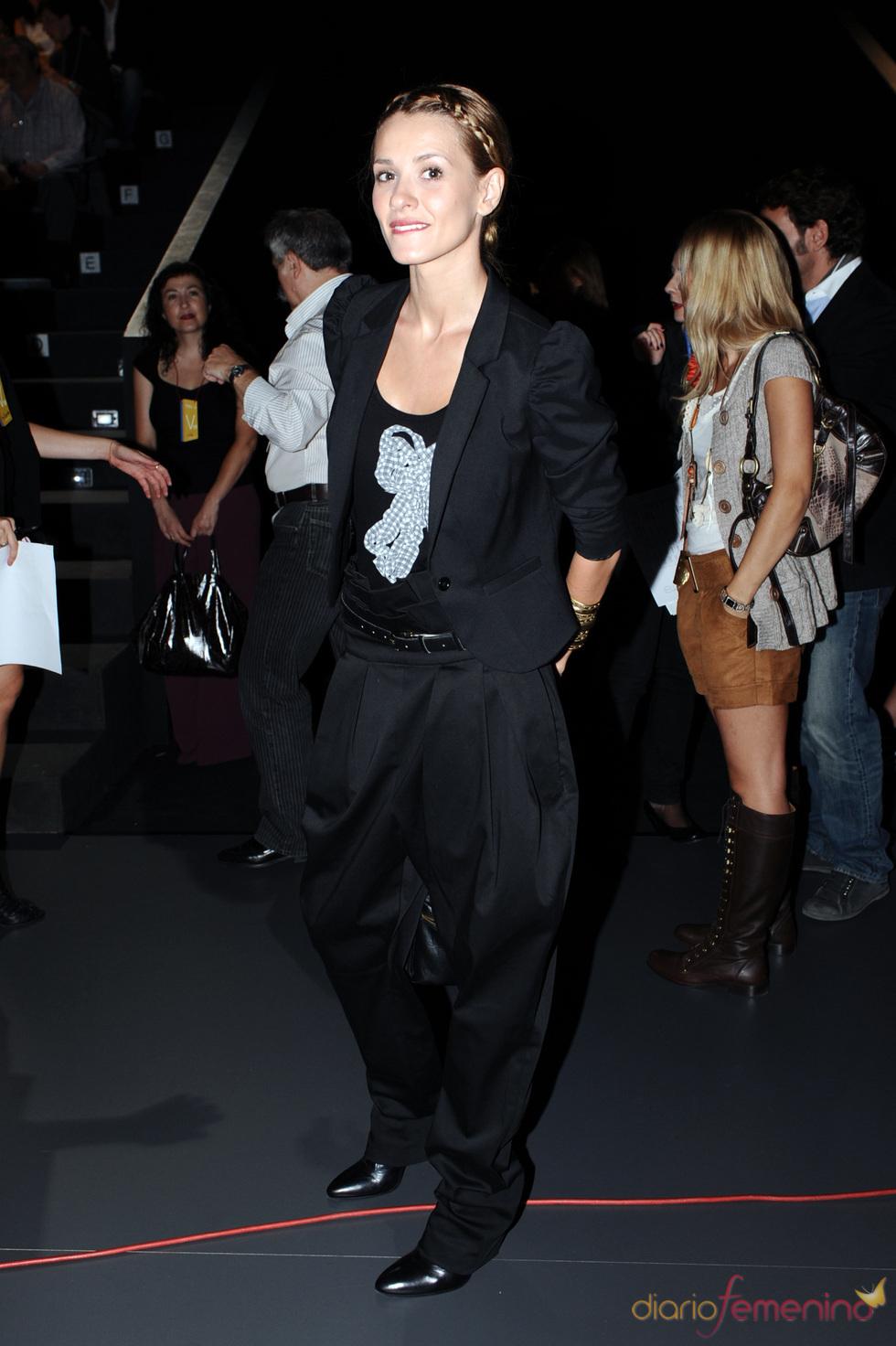 Elena Ballesteros en la Cibeles Madrid Fashion Week