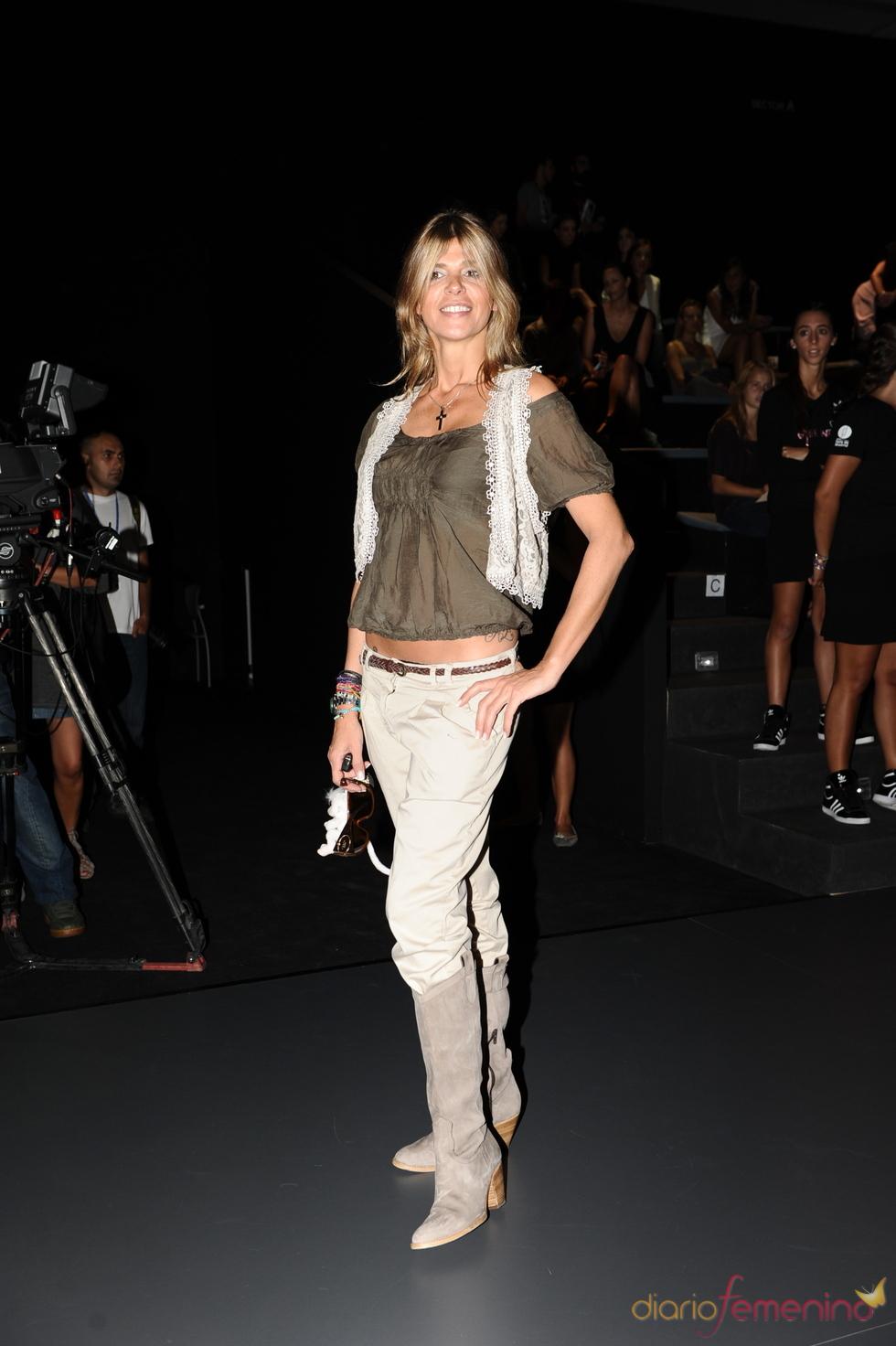 Arancha de Benito en la Cibeles Madrid Fashion Week