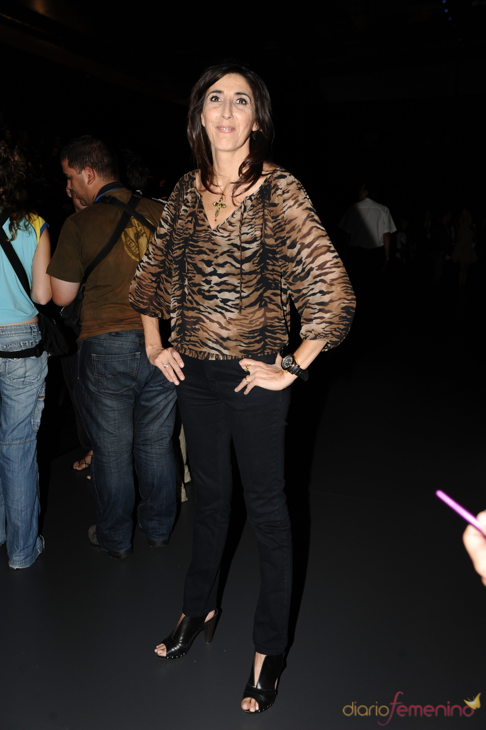Paz Padilla en la Cibeles Madrid Fashion Week