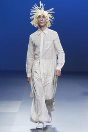 Carlos Díez: look blanco para el hombre