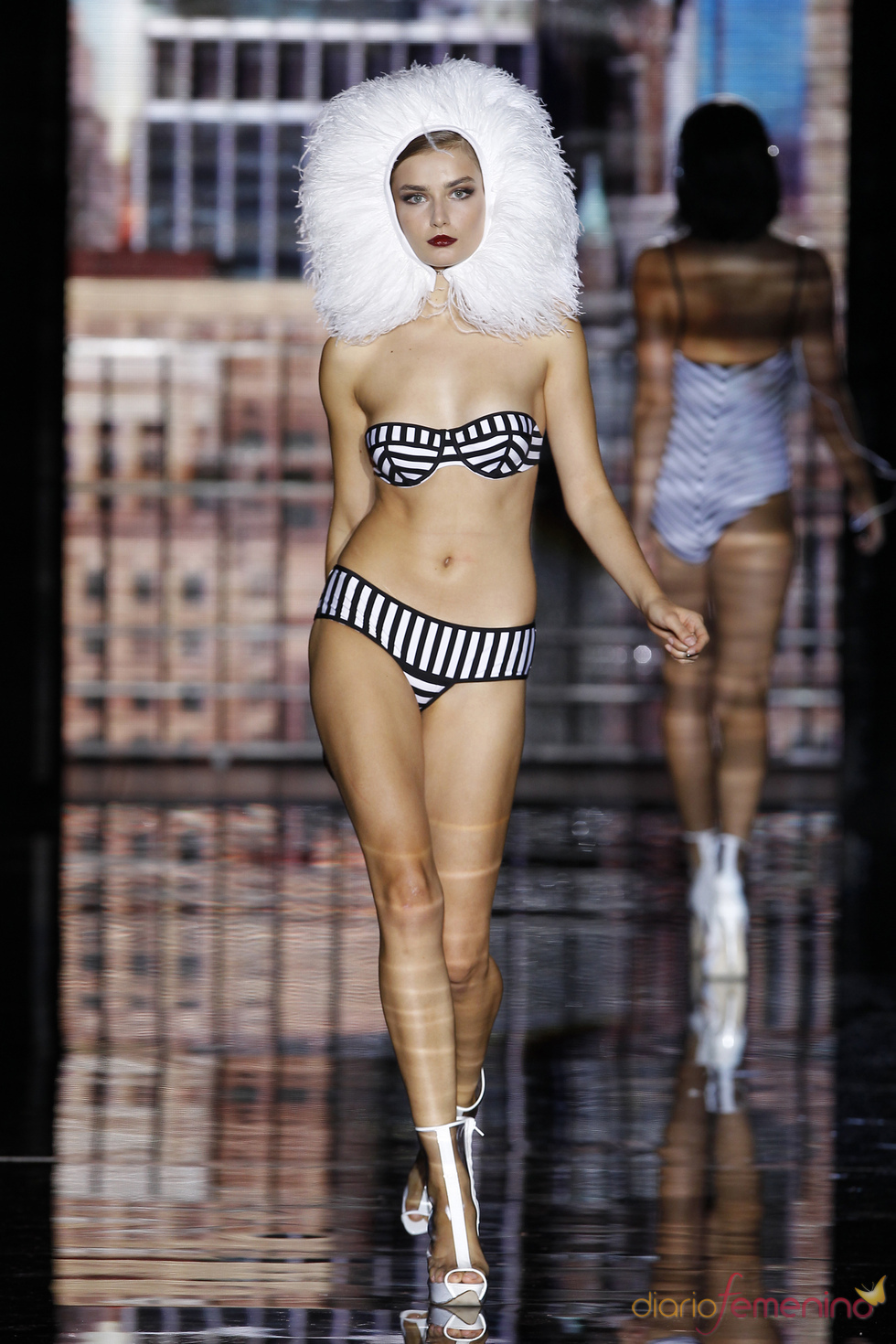 Verano 2011: Bikini de rayas de Andrés Sardá