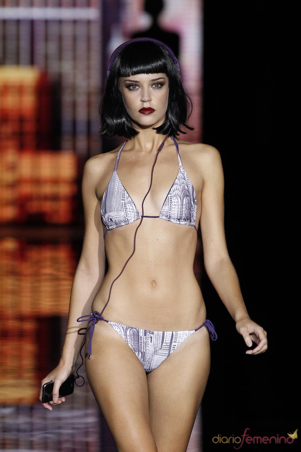 Bikini con estampado de Nueva York de Andrés Sardá
