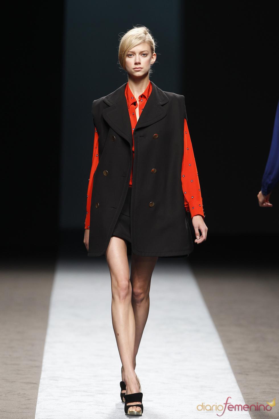 Miguel Palacio en la Cibeles Madrid Fashion Week