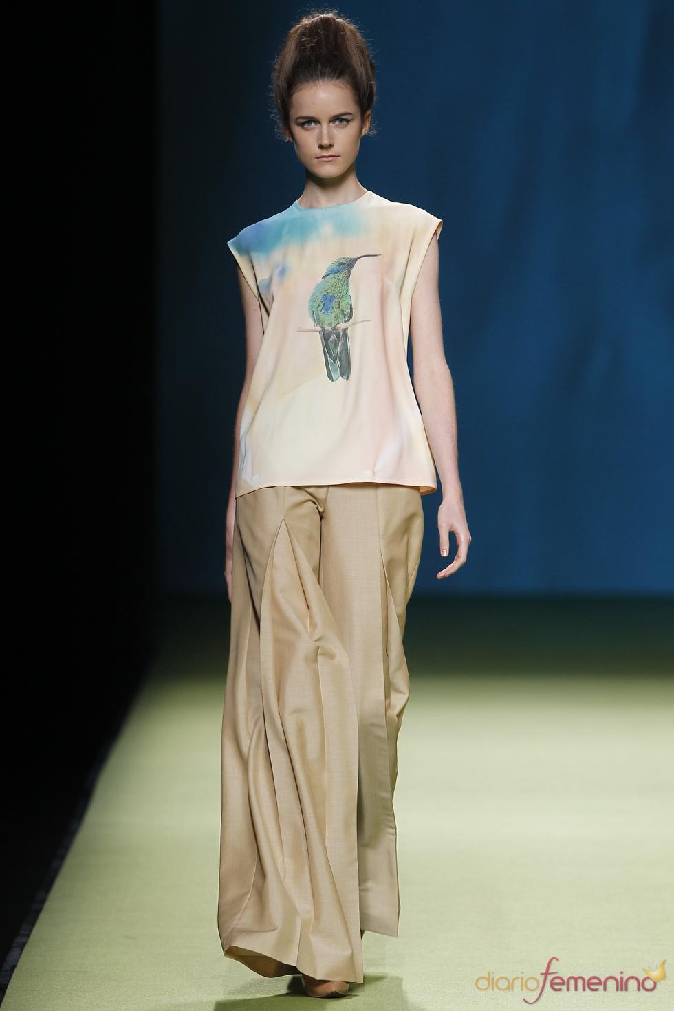 Duyos utiliza los pájaros en su colección primavera-verano 2011