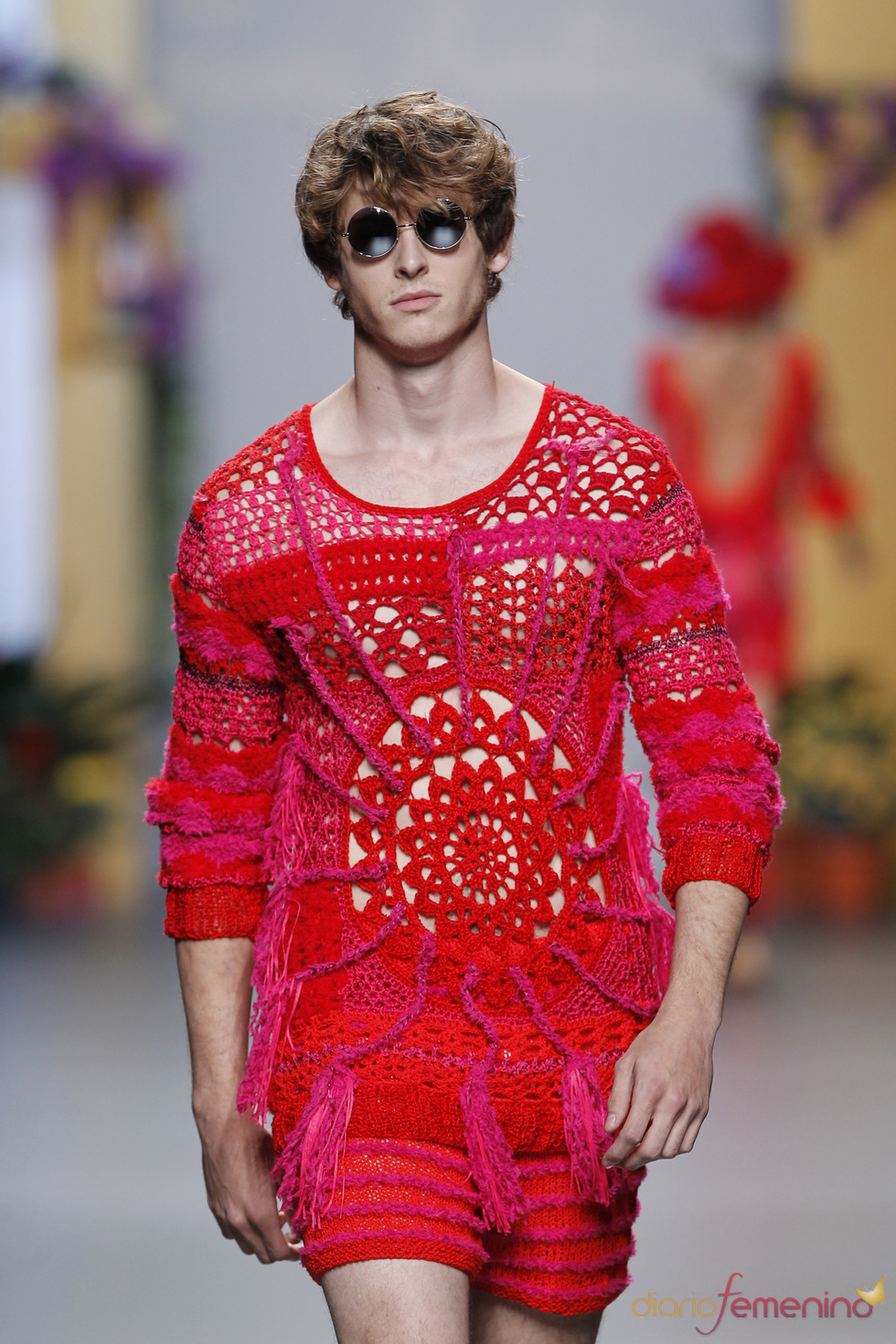 Nicolás Coronado Dominguín en Cibeles Madrid Fashion Week