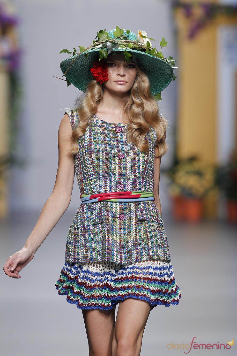 Pamelas en la colección primavera-verano 2011 de Francis Montesinos